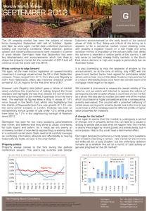 Market Review - September 2013